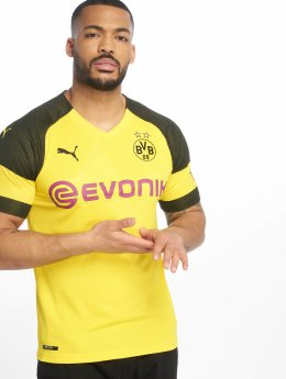 Puma Performance Soccer Jerseys BVB Home Replica Evonik Logo yellow