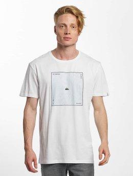 Quiksilver T-Shirt Premium Heat Waves white