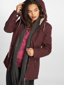Ragwear Winter Jacket Monadis red