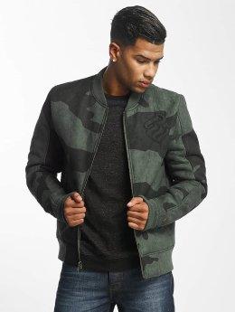 Rocawear Retro Army Jacket Olive Camo