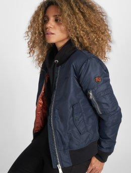 Schott NYC Bomber jacket Jktacw blue