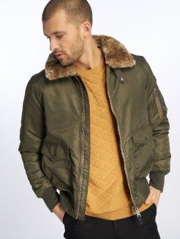 Schott NYC Winter Jacket O'hara khaki
