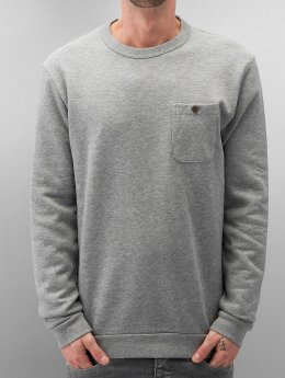 Selected Pullover Delik gray