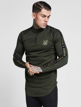 Sik Silk Longsleeve Athlete Training khaki