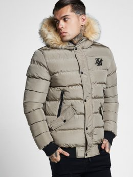Sik Silk Winter Jacket Parachute beige