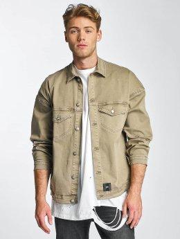 Sixth June Denim Jacket Oversizes Denim beige