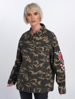 Sixth June Lightweight Jacket Roses  camouflage