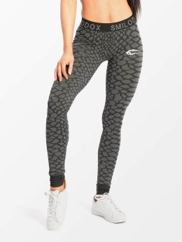 Smilodox Leggings/Treggings Scale Seamless gray