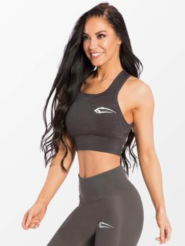 Smilodox Sports Bra Fashioner gray