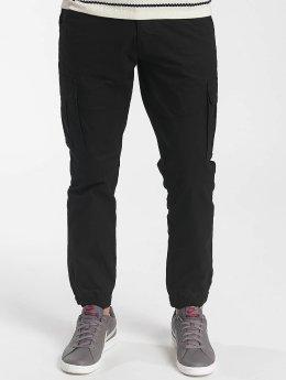 Solid Cargo pants Galo Strech black