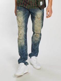 Southpole Ripped Stretch Denim Skinny Jeans Dark Vintage