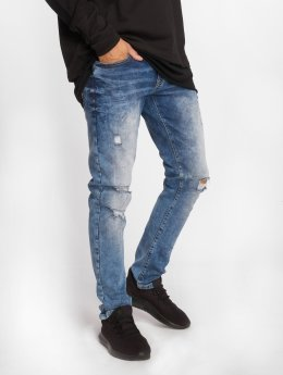 Southpole Skinny Jeans Flex Ripped blue