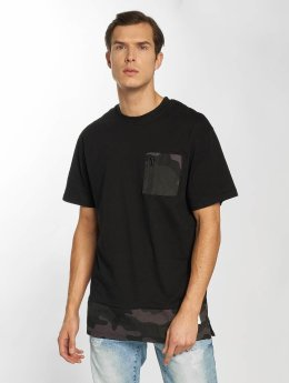 Southpole T-Shirt Pocket black