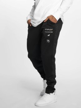 Staple Pigeon Sweat Pant Poly Track black