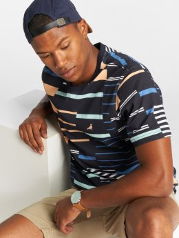 Staple Pigeon T-Shirt Sport Stripe blue