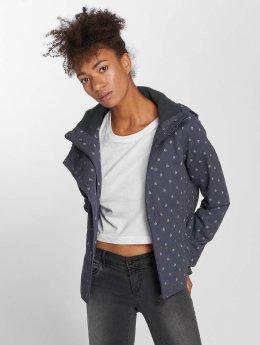 Sublevel Lightweight Jacket Hooded  blue