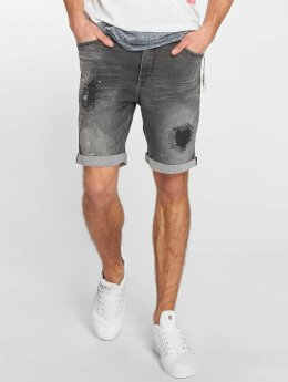 Sublevel Short Sweat Denim Optics gray