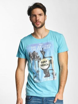 Sublevel T-Shirt Surf Beach blue