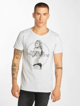 Sublevel T-Shirt Take The Risk gray