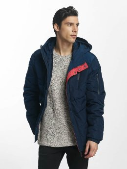 Sublevel Winter Jacket Ouilted blue