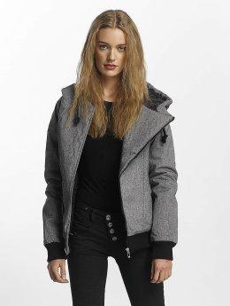 Sublevel Winter Jacket Asymmetric gray