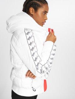 Superdry Puffer Jacket Streetwear Repeat white