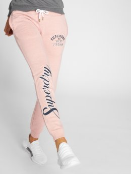 Superdry Sweat Pant Aria Applique pink