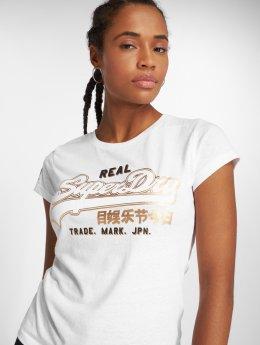 Superdry T-Shirt Vintge Logo Duo Foil Entry white