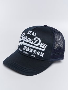 Superdry Trucker Cap Vintage Logo Edition blue