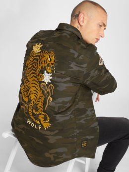 The Dudes Lightweight Jacket Wolf Pack Over camouflage