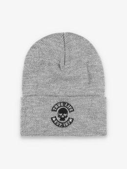 Thug Life Basic Hat-1 Basic Skull gray