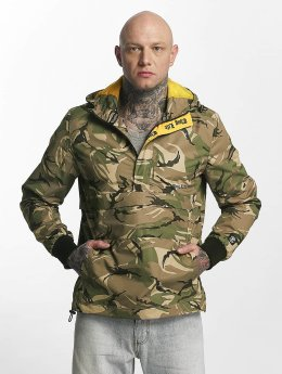 Thug Life Threat Jacket Green Camouflage