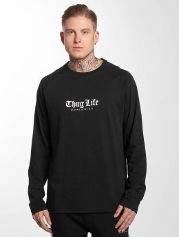 Thug Life Longsleeve Street black