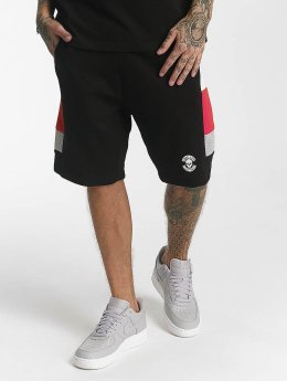 Thug Life Leopard Shorts Black