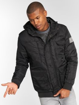 Thug Life Winter Jacket Divers black