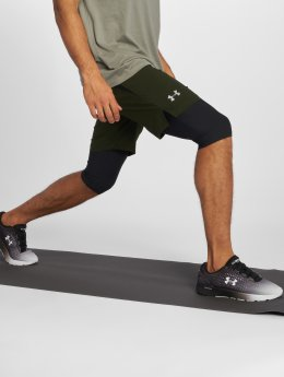 Under Armour Compression Shorts Launch Sw Long green