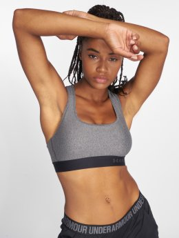 Under Armour Sports Bra Armour Mid Crossback gray