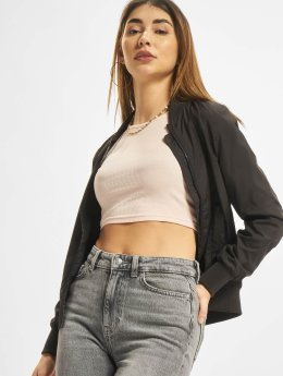 Urban Classics Bomber jacket Ladies Light Bomber black
