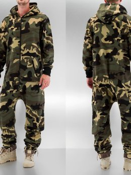 Urban Classics Jumpsuits Camo camouflage