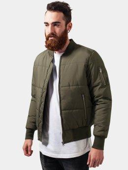 Urban Classics Lightweight Jacket Basic Quilt olive