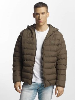 Urban Classics Puffer Jacket Basic Bubble khaki