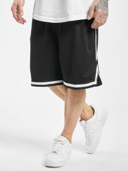 Urban Classics Short Stripes Mesh  black