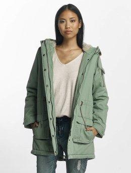 Urban Surface Coats Back Print green