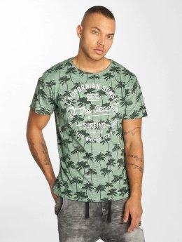Urban Surface T-Shirt Sunset green