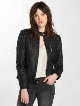 Vero Moda Leather Jacket vmCalifornia black