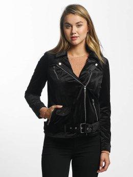 Vero Moda vmOrlon Velvet Short Jacket Black