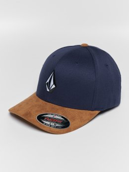 Volcom Flexfitted Cap Full Stone Hthr Xfit Flexfitted blue