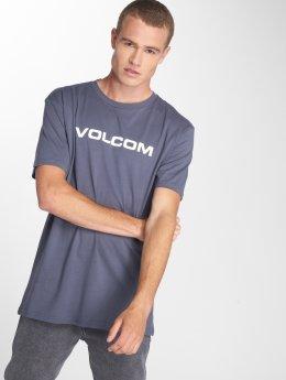 Volcom T-Shirt Crisp Euro blue