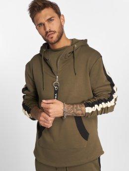 VSCT Clubwear Hoodie Striped khaki