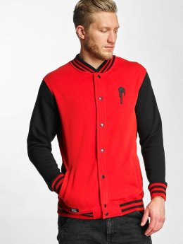Who Shot Ya? Dream College Jacket Black/Red